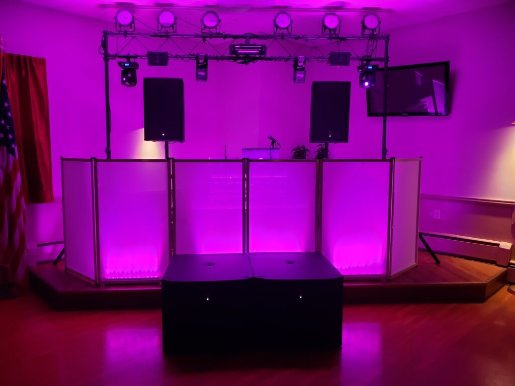 Club Style Lighting Available